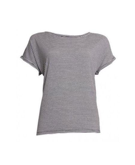 Afbeelding van 20 TO 20to t-shirt 20to56 stripe zwart