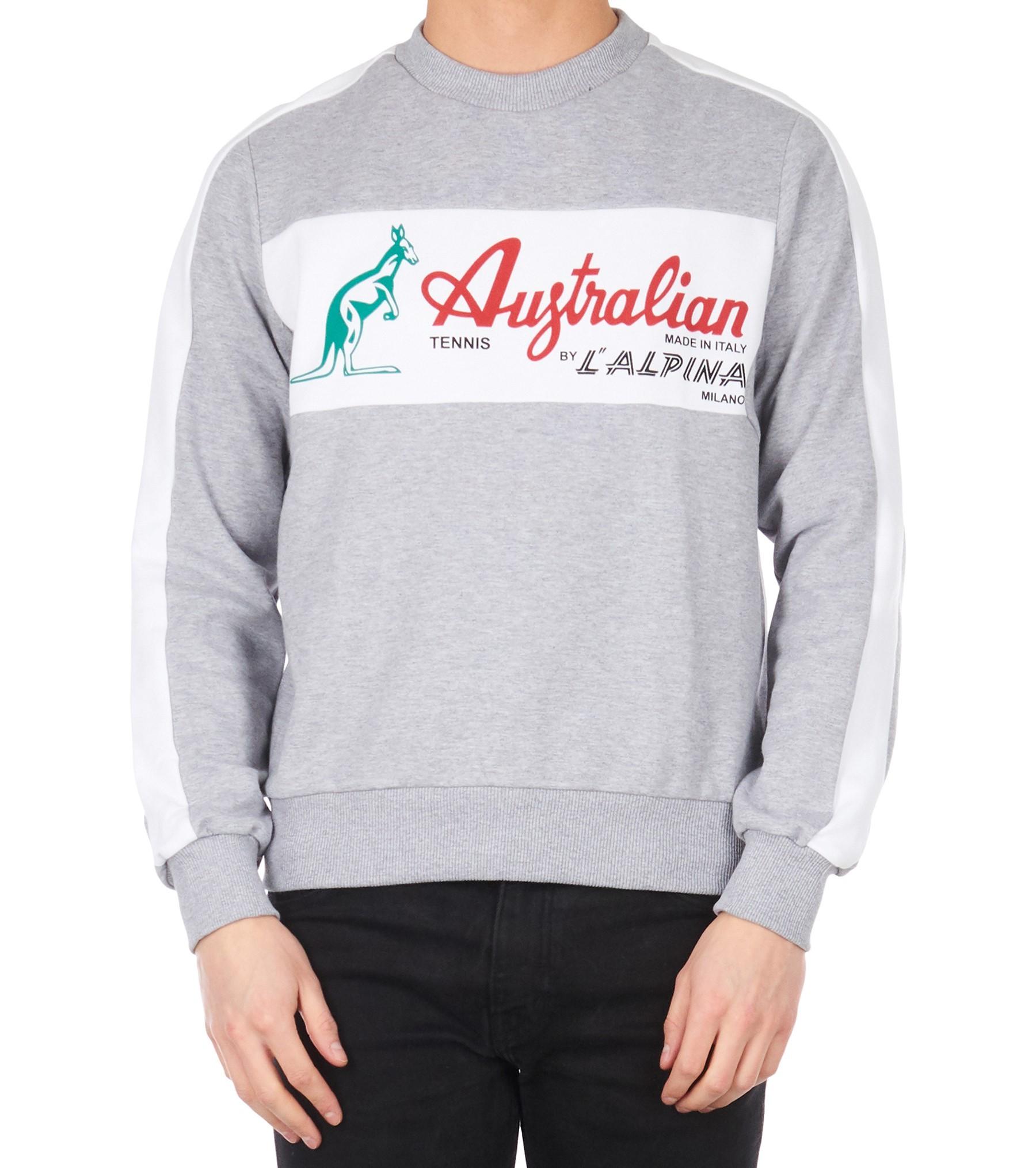 Afbeelding van Australian Felpa inter hoodie - grijs