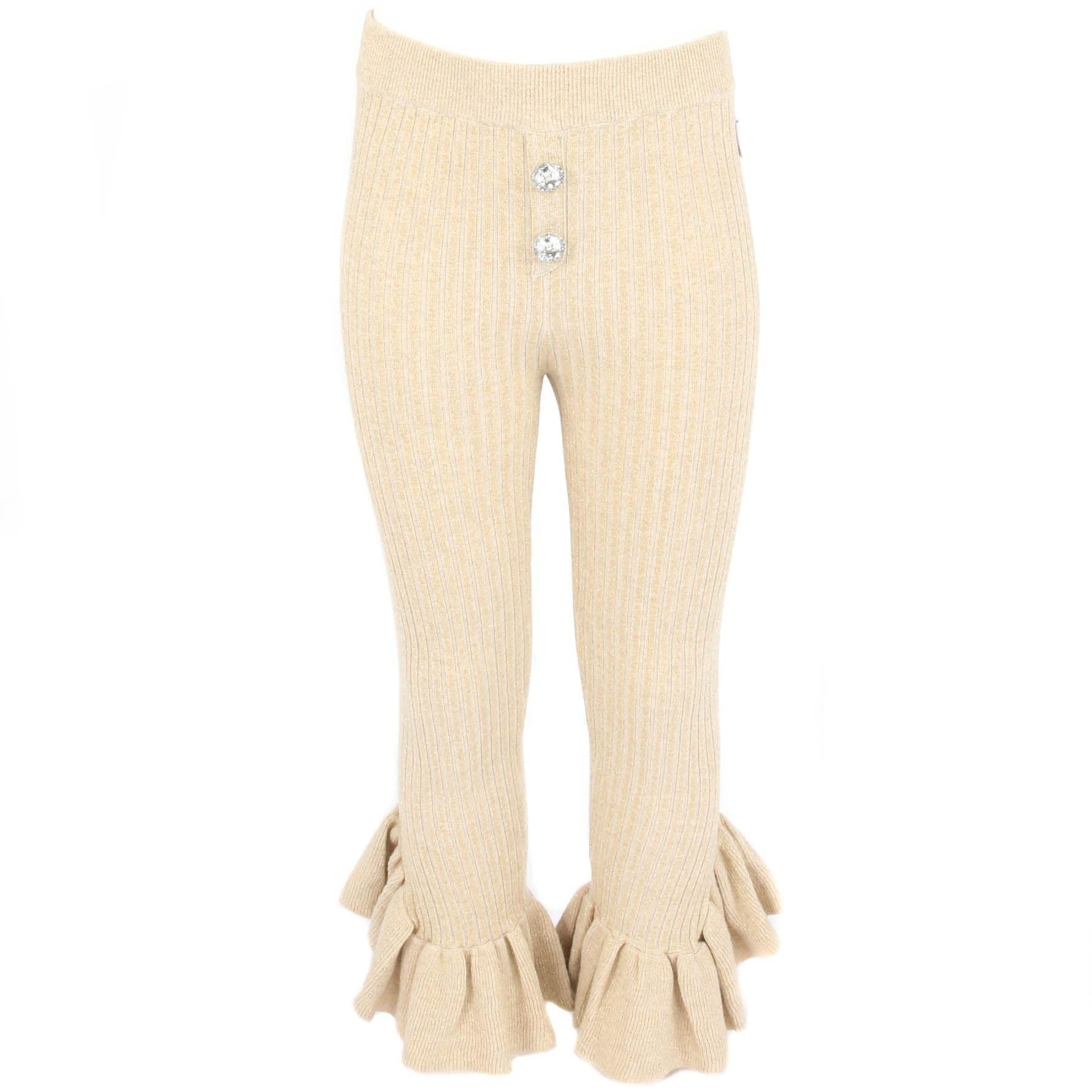 Afbeelding van Reinders Diamond pants lurex wit