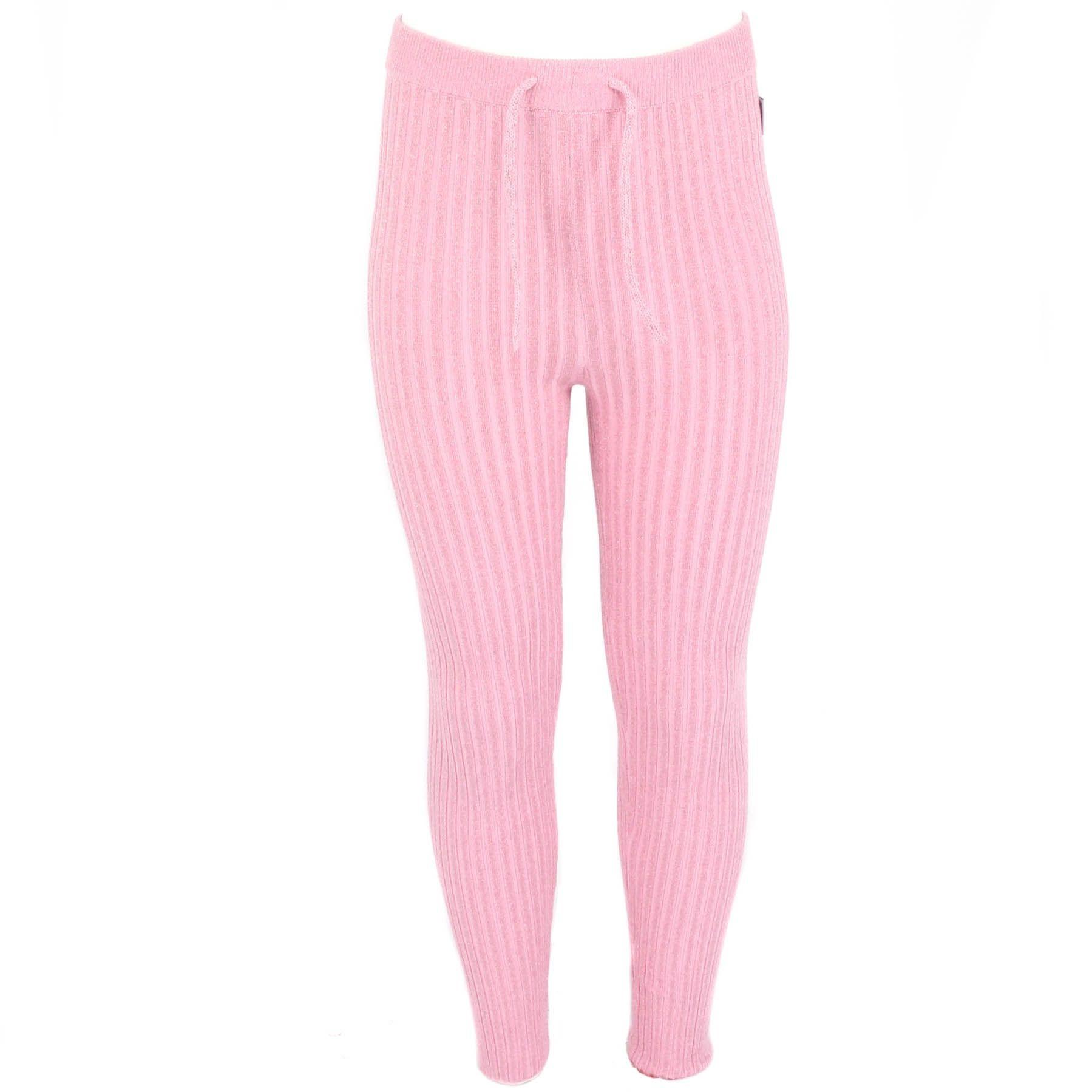 Afbeelding van Reinders Twin set pants lurex roze