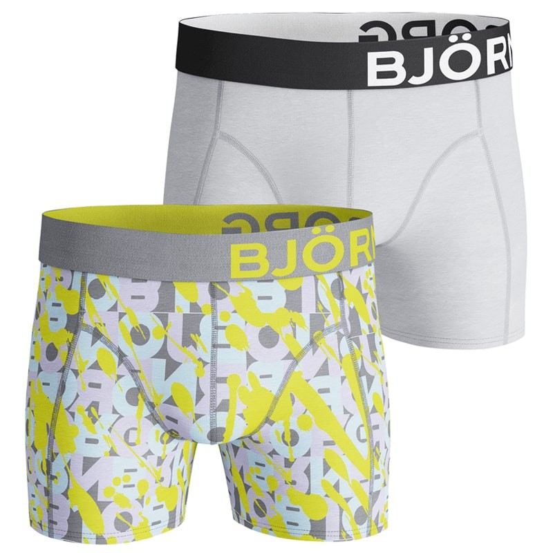 Afbeelding van Bjorn Borg 2-pack boxers vandalize