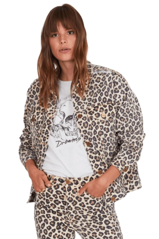 Afbeelding van AMUSE SOCIETY Isabela jacket leo bruin