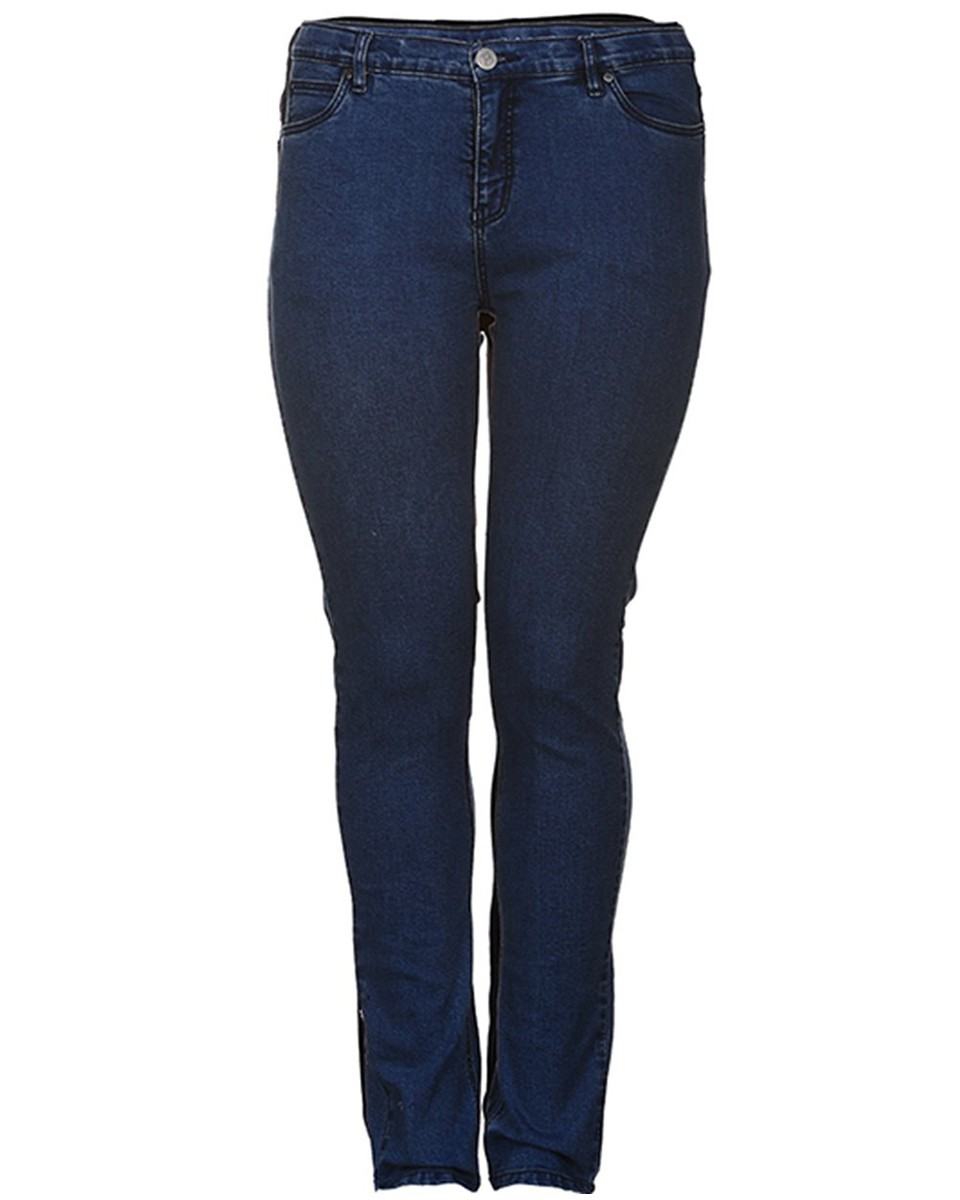 Afbeelding van Adia + Jeans 7/7503 milan l82 blauw