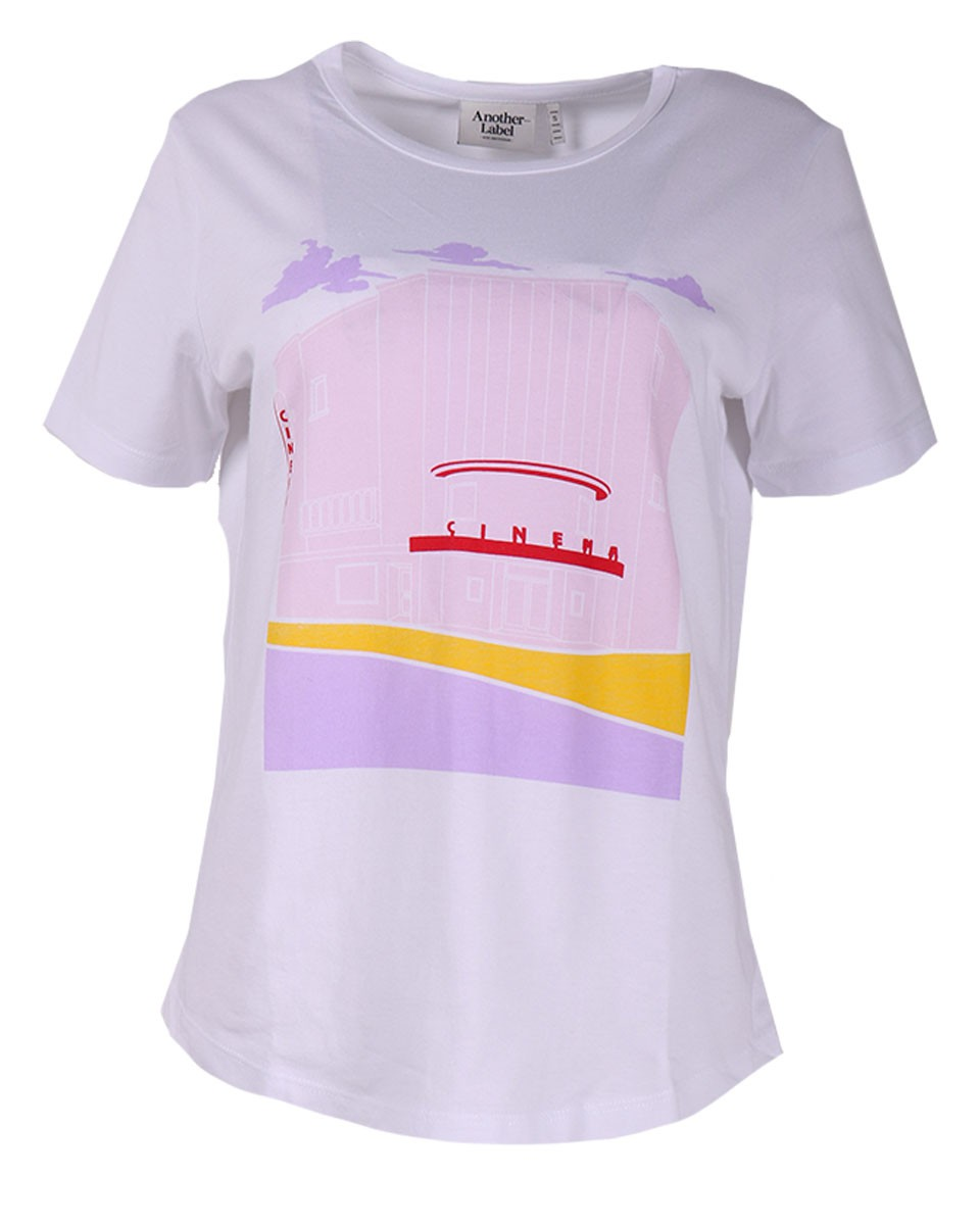 Afbeelding van Another Label T-shirt c20/219050c roxbury wit