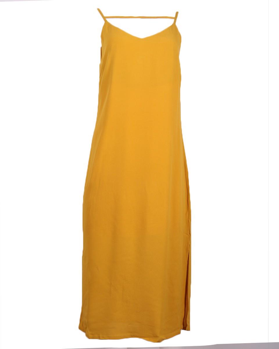Afbeelding van Another Label Jurk d17/319254 soufflot geel