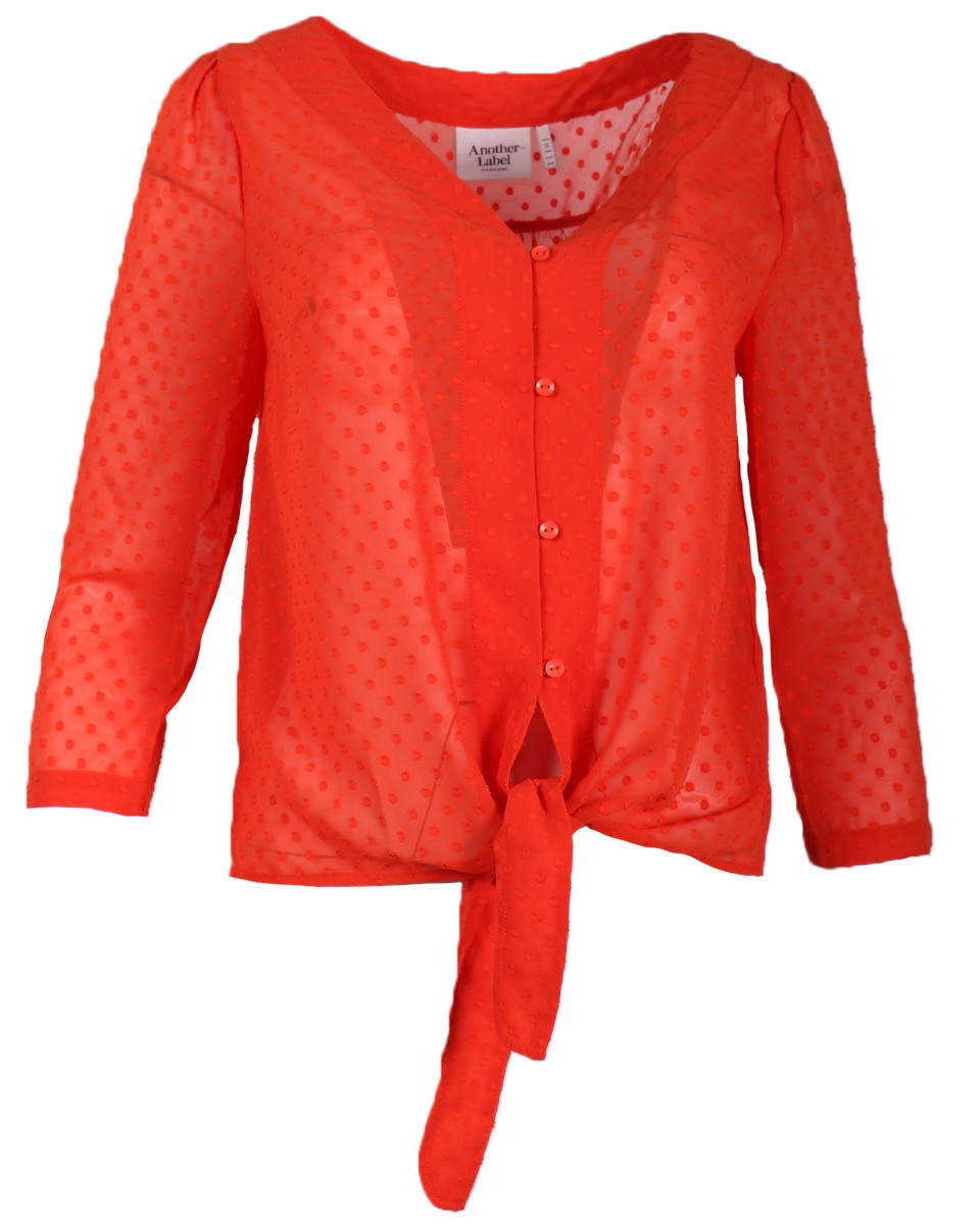 Afbeelding van Another Label Blouse d21/319102 salomon oranje