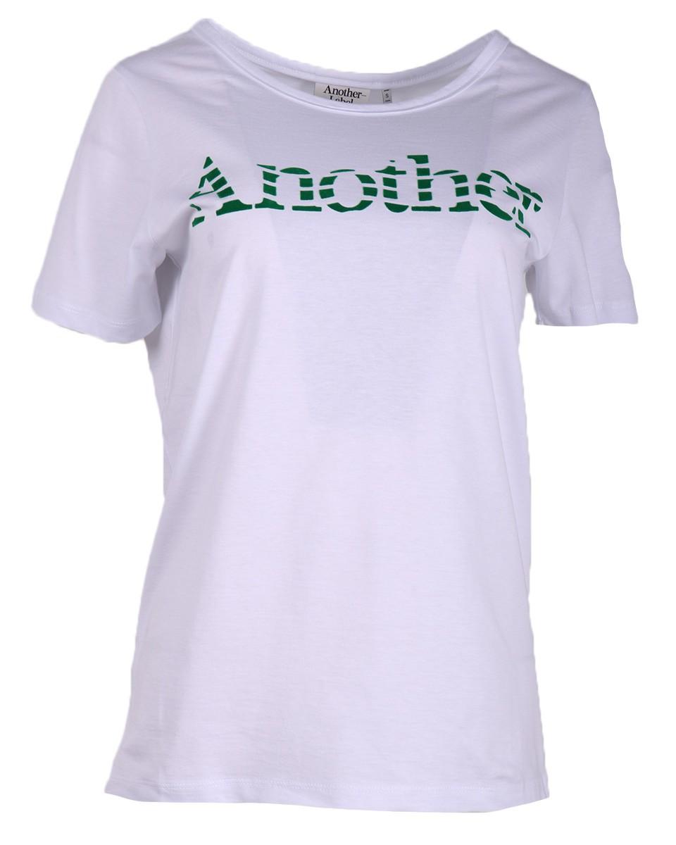 Afbeelding van Another Label T-shirt c20/319050b sevigne wit