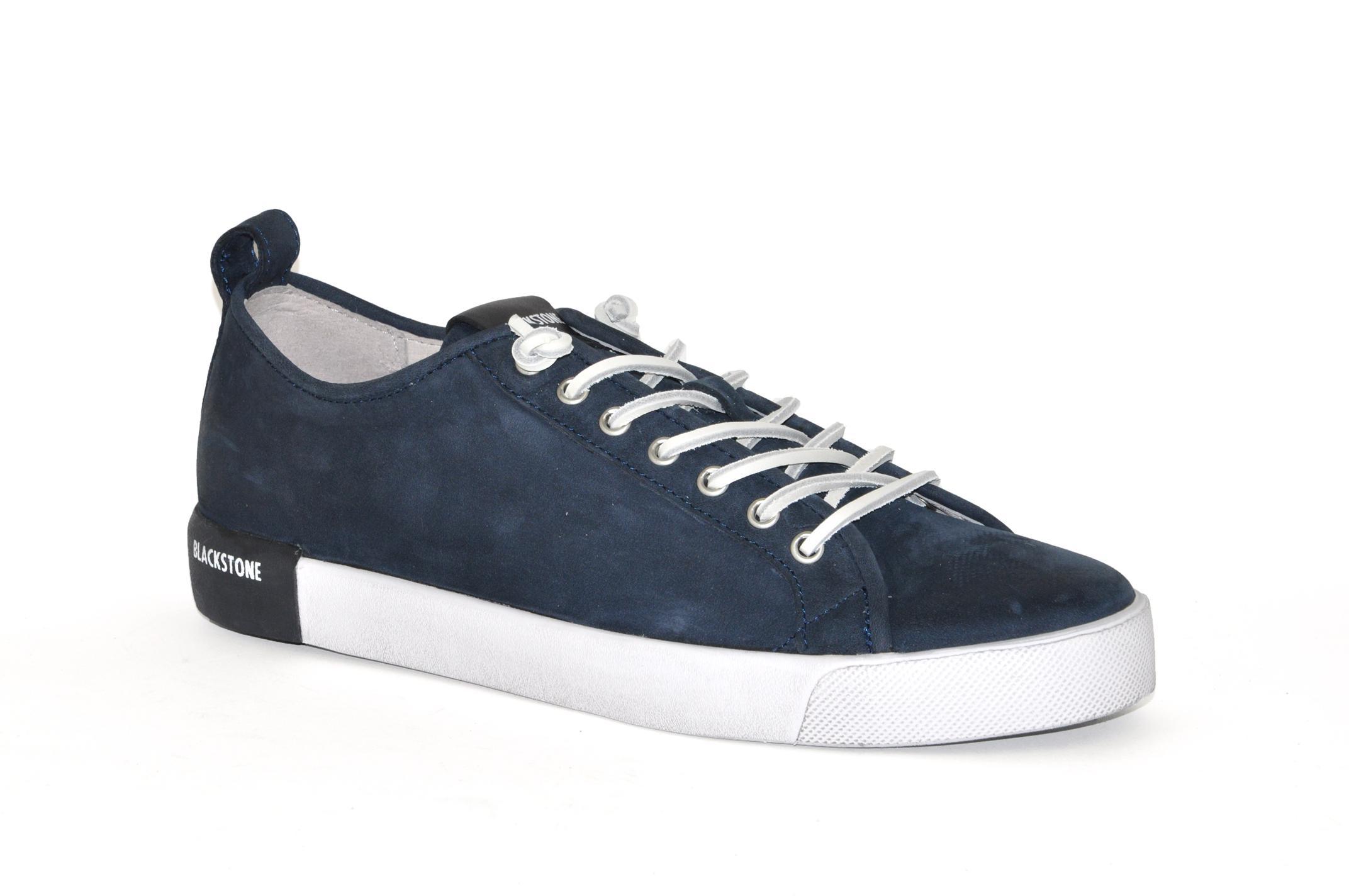 Afbeelding van Blackstone Blackstone artikelnummer PM66 sneaker blauw