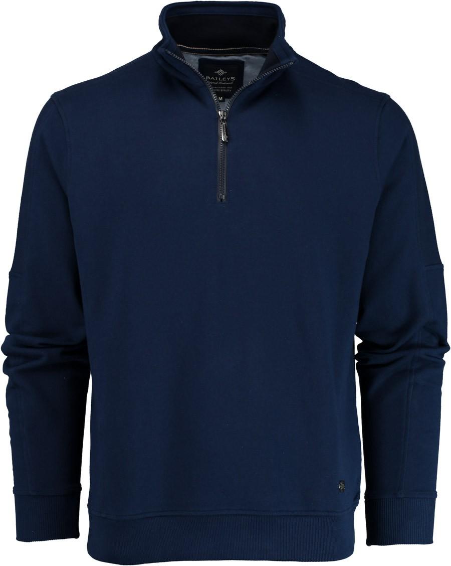 Afbeelding van Baileys Sweater met rits 913103/65 trui blauw