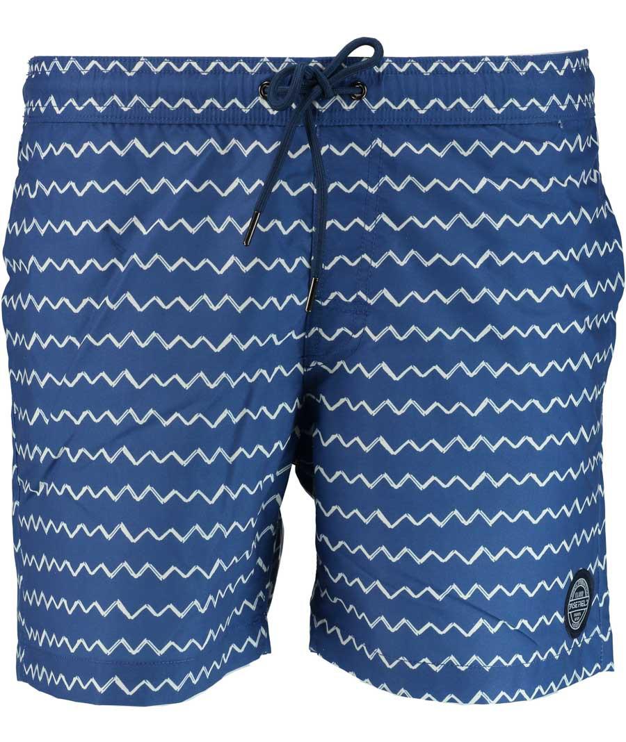 Afbeelding van Basefield Bermuda 219012670/607 zwembroek 100% blauw