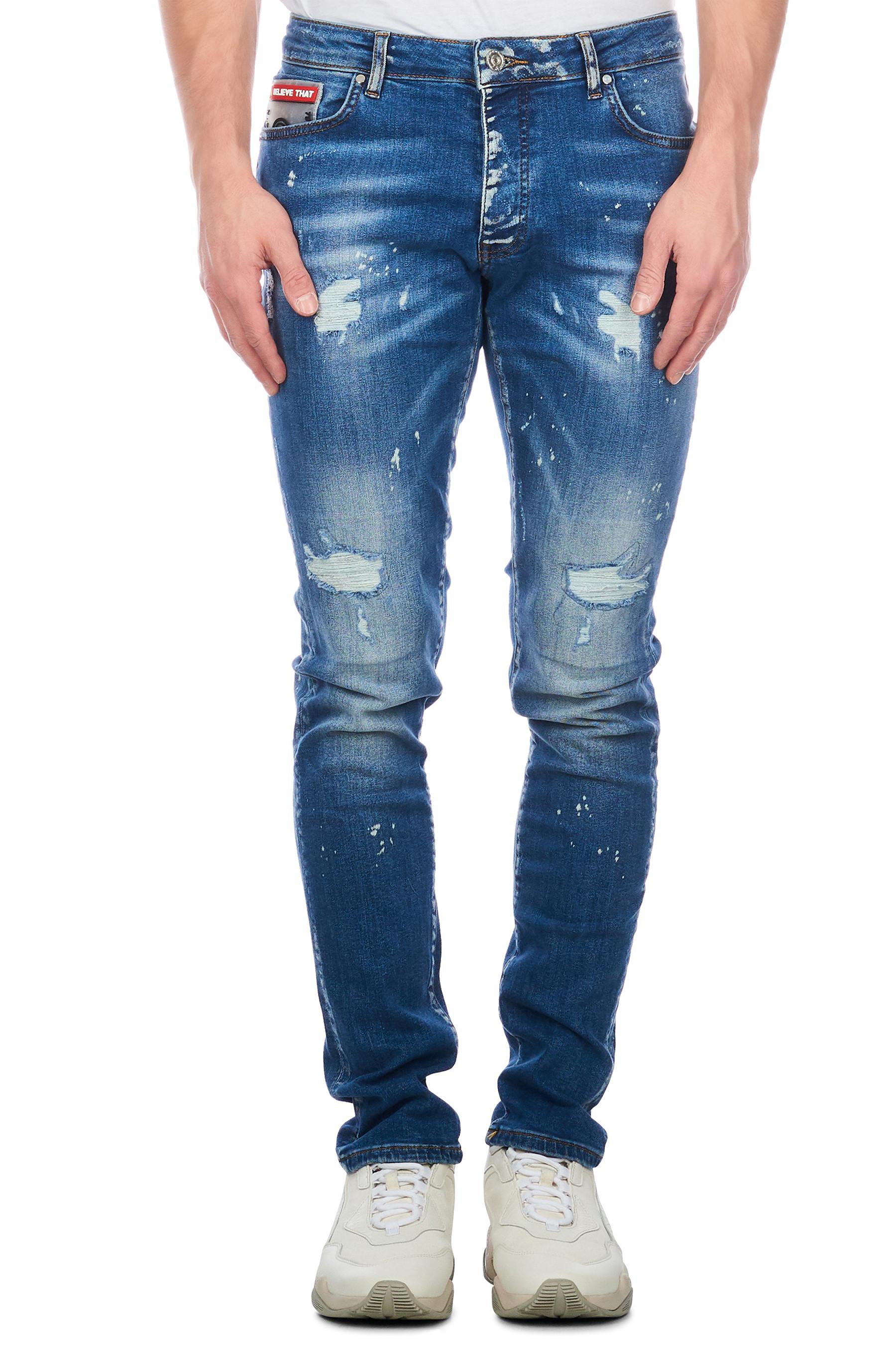 Afbeelding van Believe That Voyage jeans – blauw denim