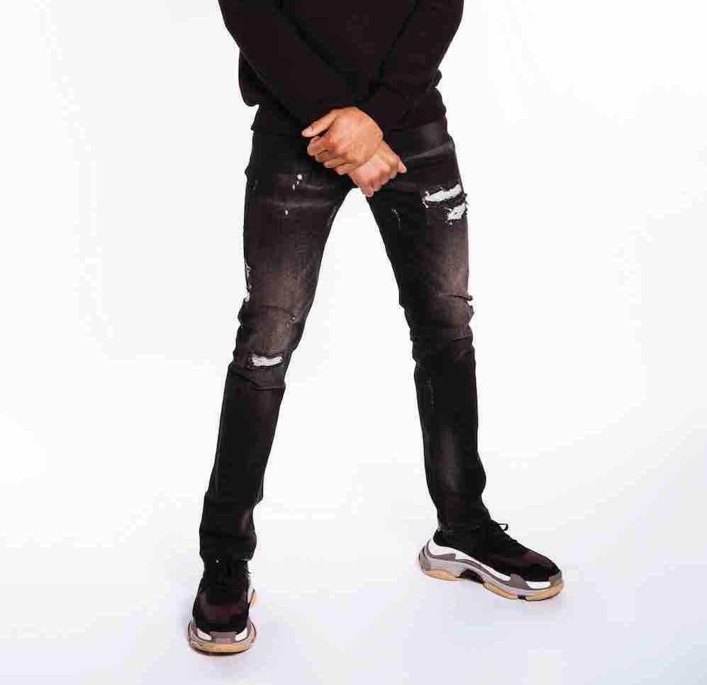 Afbeelding van Believe That Panorama jeans - zwart