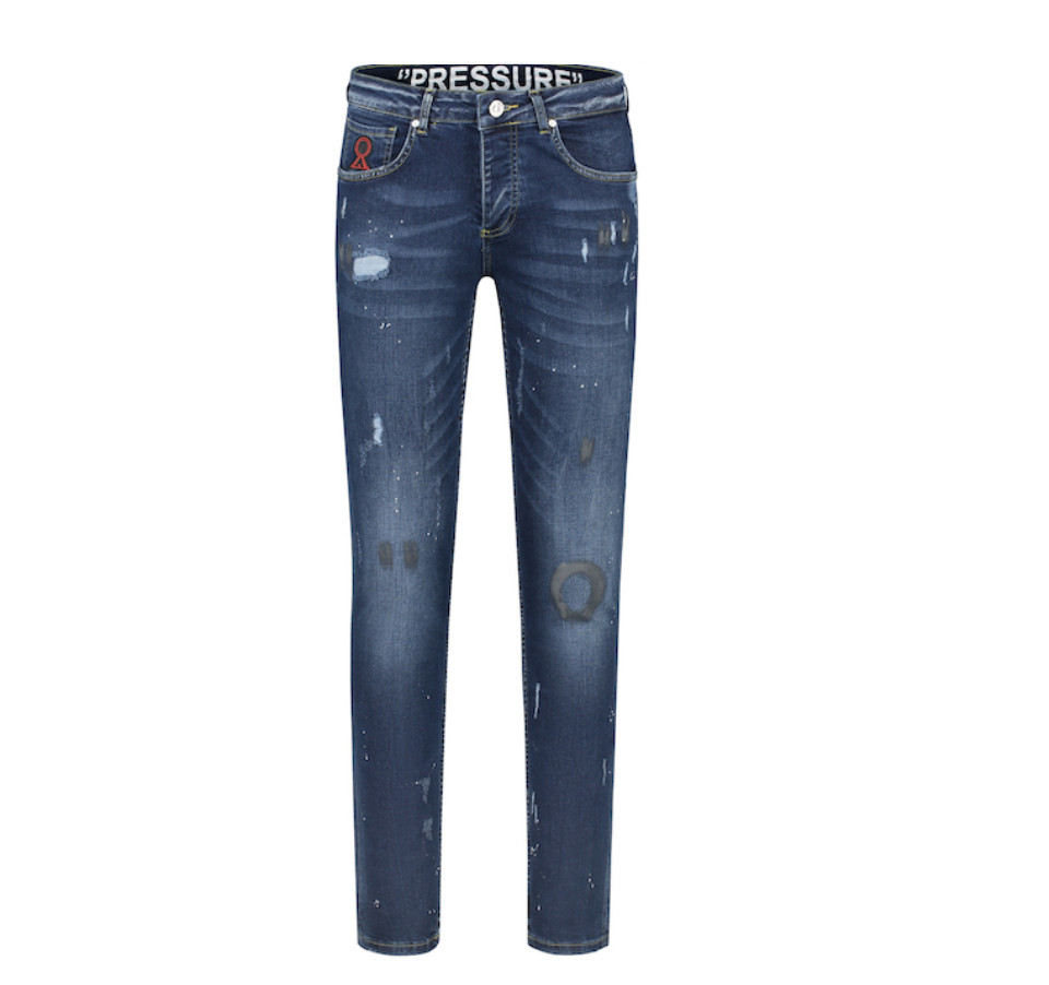 Afbeelding van Believe That Pressure jeans - denim