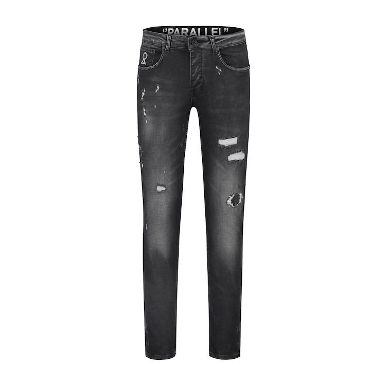 Afbeelding van Believe That Parallel jeans - zwart