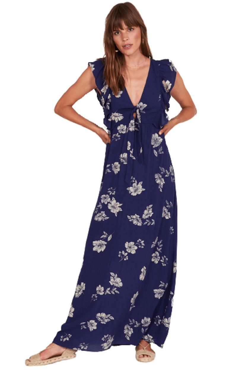 Afbeelding van Amuse Carolina dress-pbl blauw