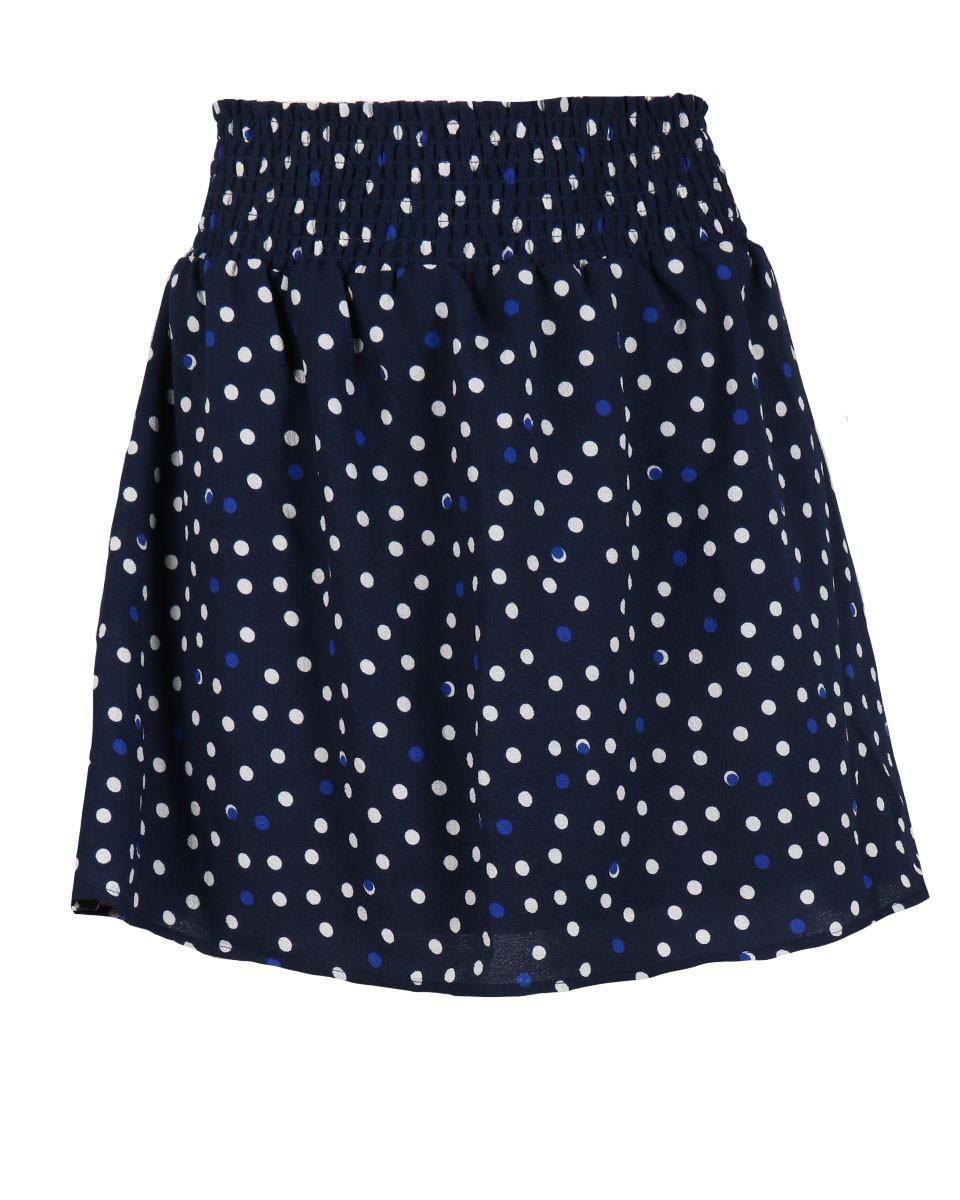 Afbeelding van Another Label Rok d28-419334 palais polka blauw