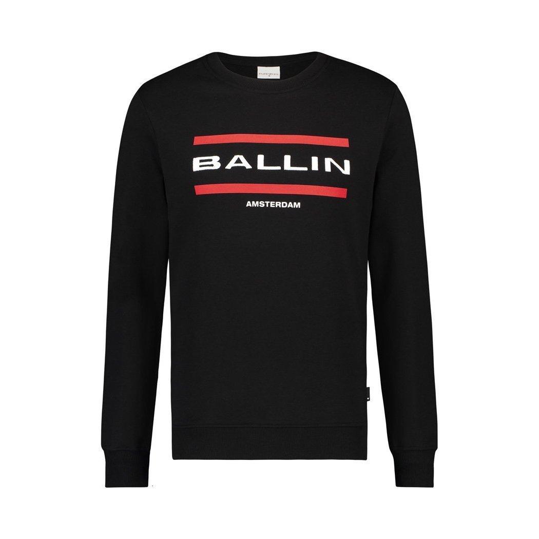 Afbeelding van Ballin Amsterdam Sweater zwart