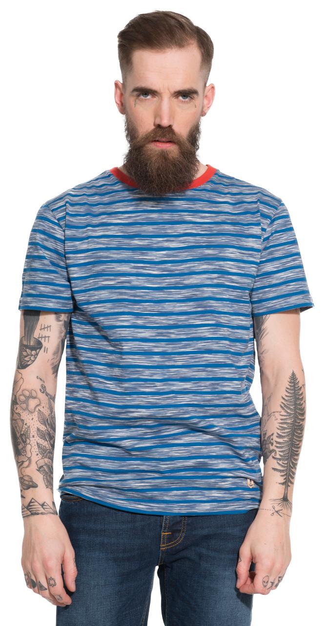 Afbeelding van Armor Lux T-shirt met korte mouwen blauw