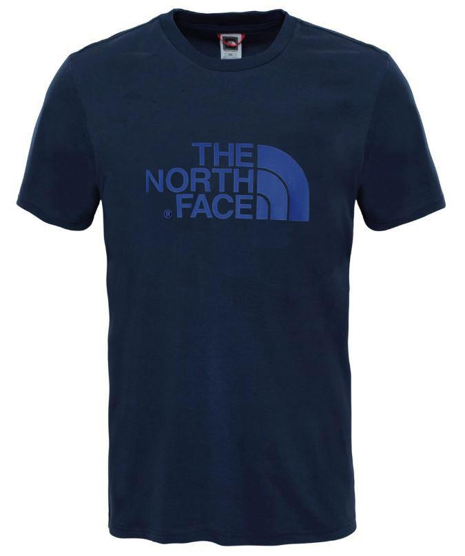 Afbeelding van The North Face New peak tee ss blauw
