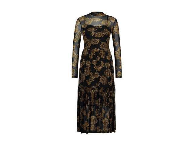 Afbeelding van Ai & Ko Lange jurk mirla zwart