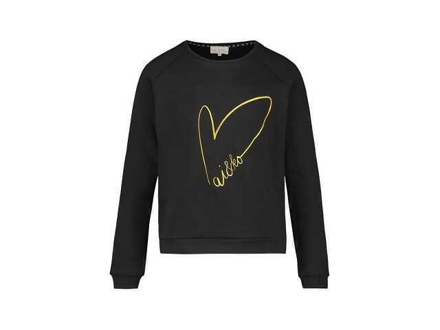 Afbeelding van Ai & Ko Sweater sady black zwart