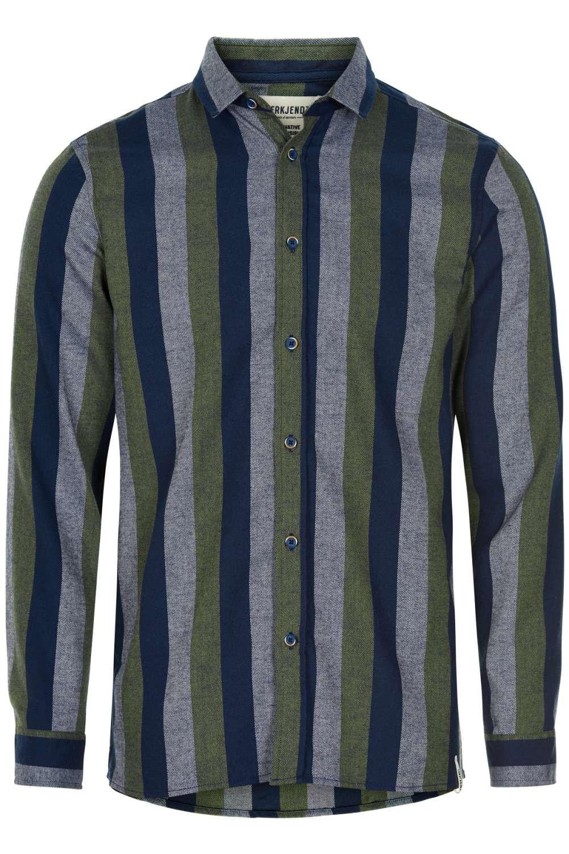 Afbeelding van Anerkjendt Akles shirt blauw