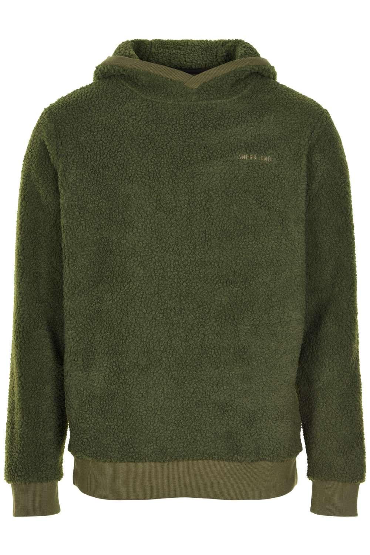 Afbeelding van Anerkjendt Akalec teddy sweat green groen