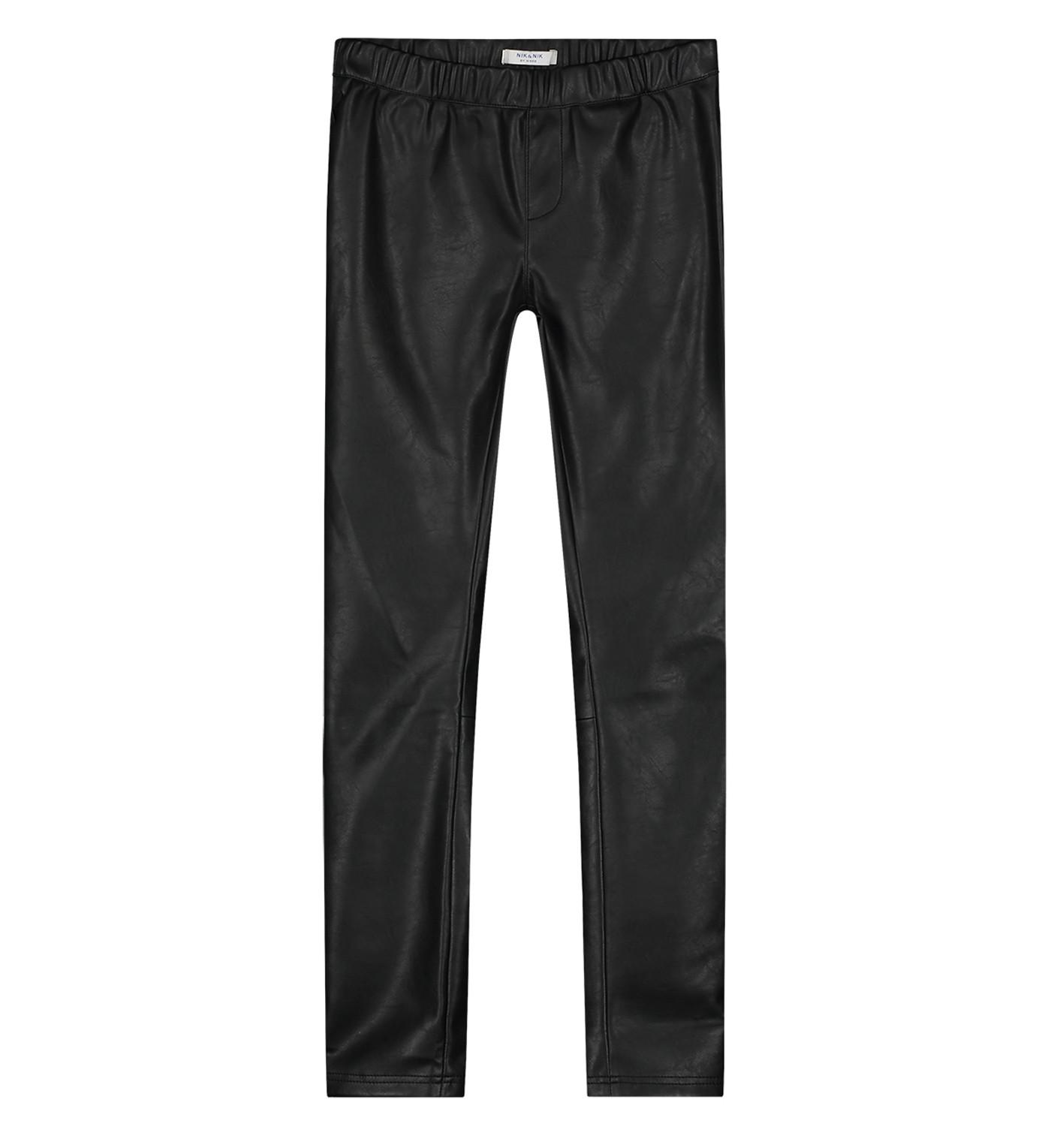 Afbeelding van Nik & Nik Lange broek g2-158 1905 fana pants zwart