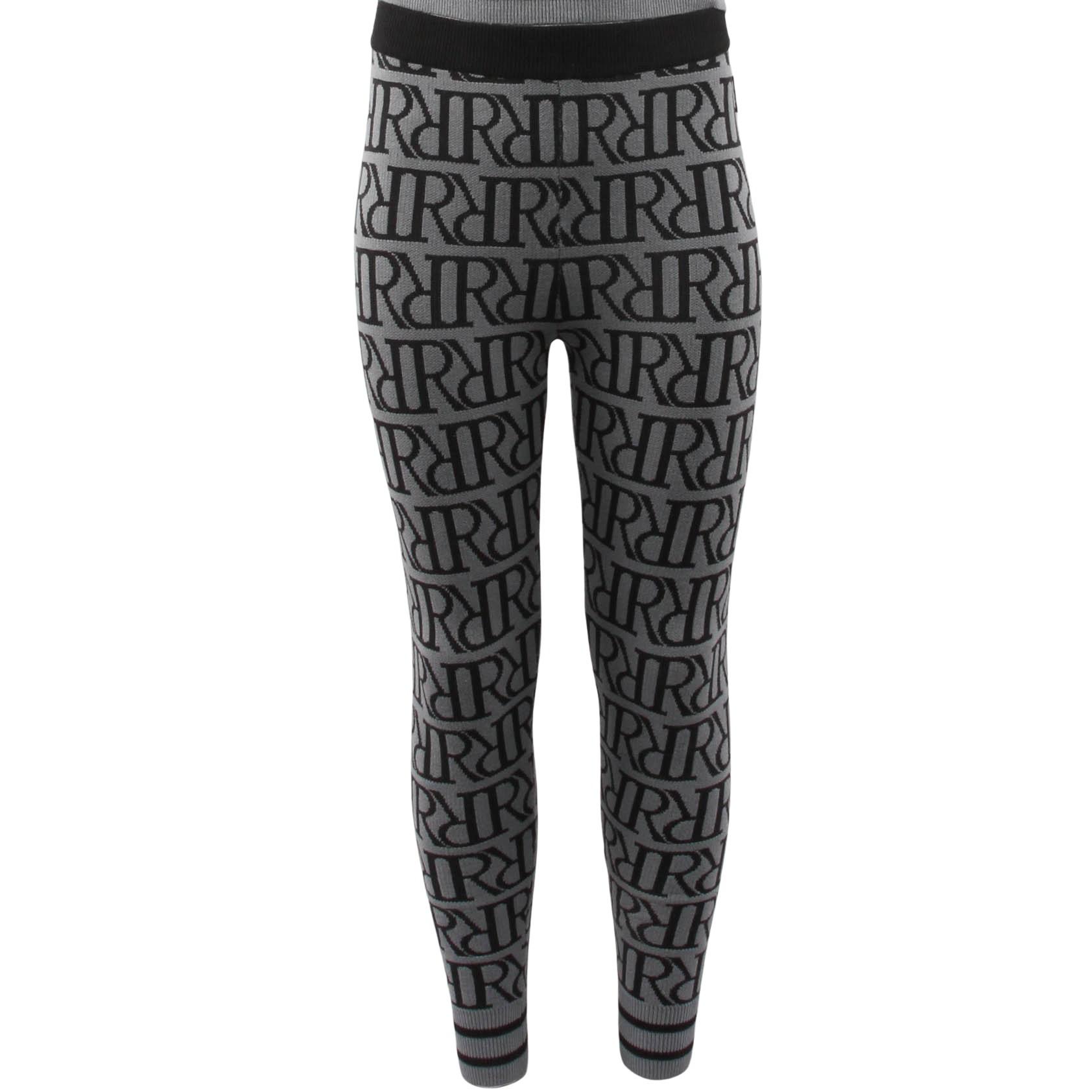 Afbeelding van Reinders Rr print pants grijs