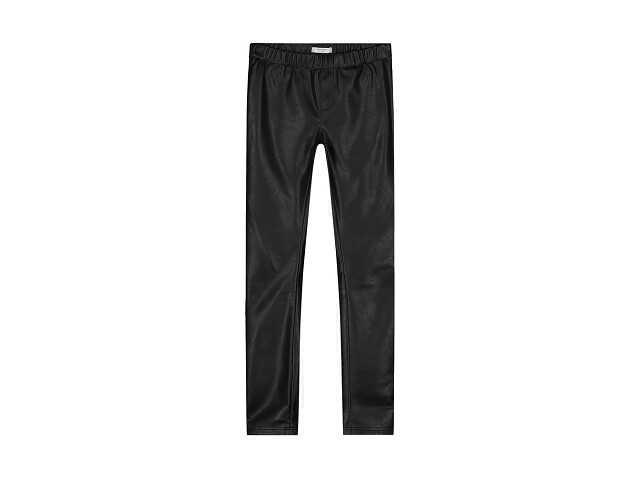 Afbeelding van Nik & Nik Fake leather pants fana zwart