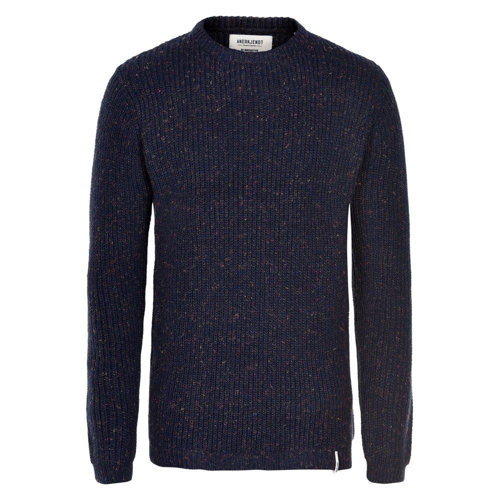 Afbeelding van Anerkjendt aktheo knit blauw