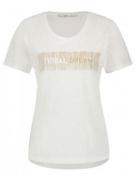 Aaiko T-shirt jazz tribal ecru Aaiko T-shirt JAZZ TRIBAL large