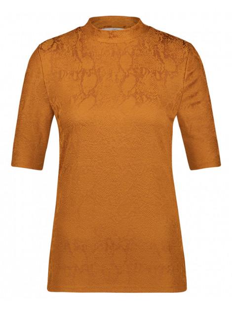 Aaiko T-shirt suraya vis bruin Aaiko T-shirt SURAYA VIS large