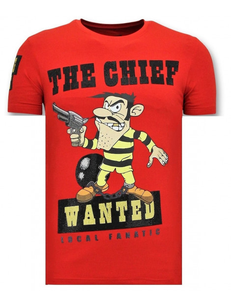 Local Fanatic T-shirt the chief wanted 11-6367R large