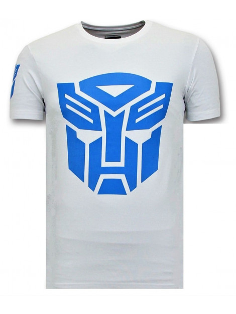 Local Fanatic Coole t-shirt transformers robots print 11-6401W large