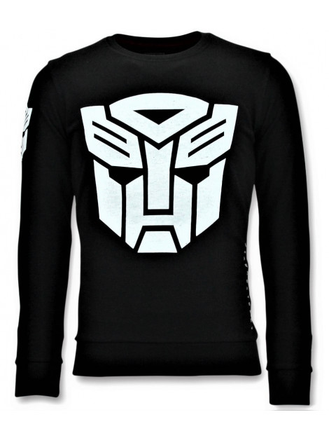Local Fanatic Sweater transformers print 11-6406Z large