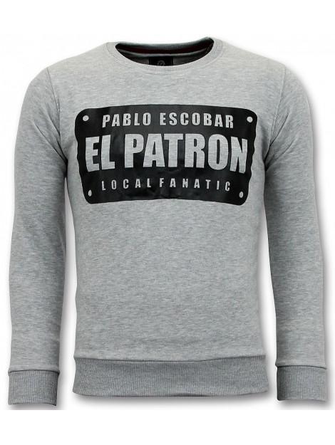 Local Fanatic Sweater pablo escobar el patron 11-6410G large