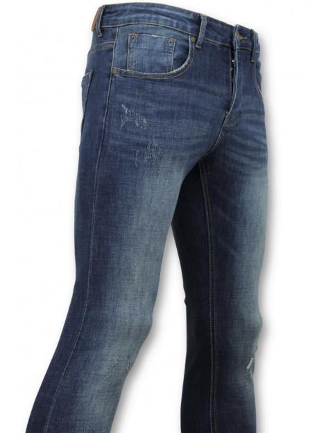 True Rise Skinny basic jeans man spijkerbroek washed D-3021 large