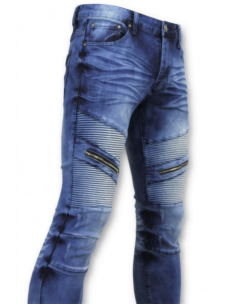 True Rise Spijkerbroek biker jeans ribbel 3023-16 large