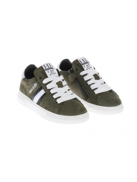 HIP H1272 sneakers wit groen HIP-H1272_202_65CO_FC-65CO - FC large