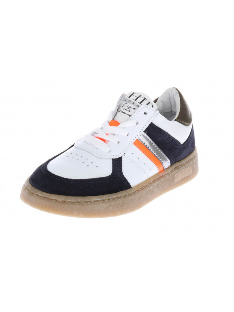 HIP H1340 sneakers blauw oranje wit HIP-H1340_202_30CO_BC-30CO - BC large