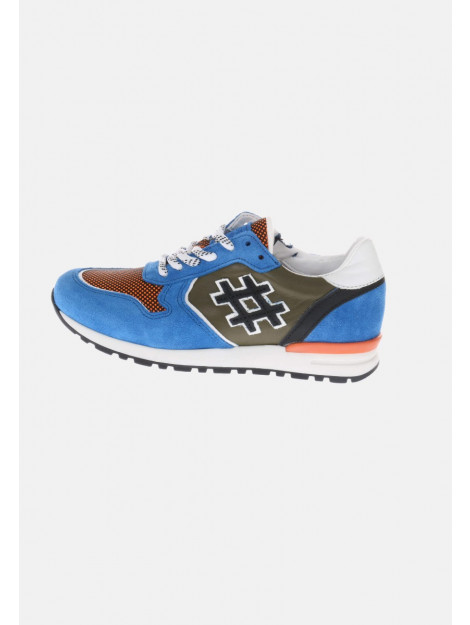 HIP H10 sneakers groen oranje blauw HIP-H1290_202_44CO_AC-44CO - AC large