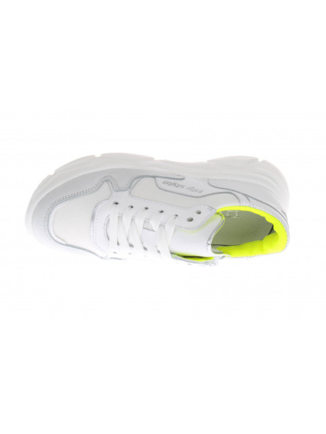 HIP H1266 sneakers fluor geel wit HIP-H1266_202_30CO_CC-30CO - CC large