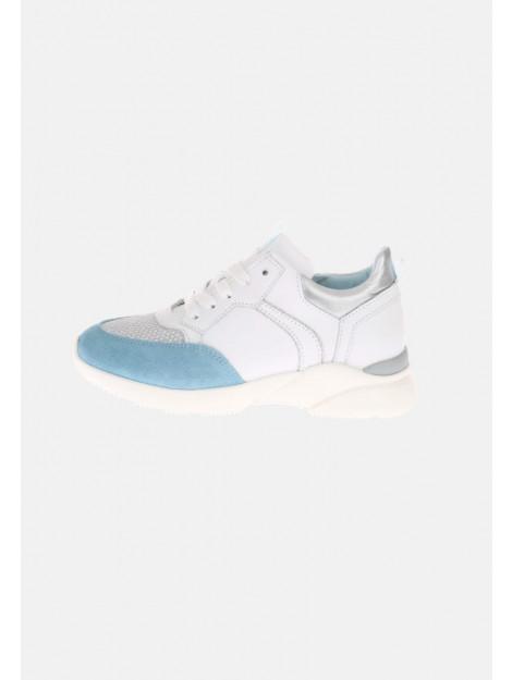 HIP H1274 sneakers zilver lichtblauw wit HIP-H1274_202_30CO_EC-30CO - EC large