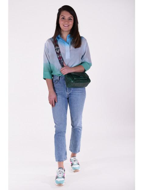 Les Tricots de Lea Blouse taomori blauw Taomori large