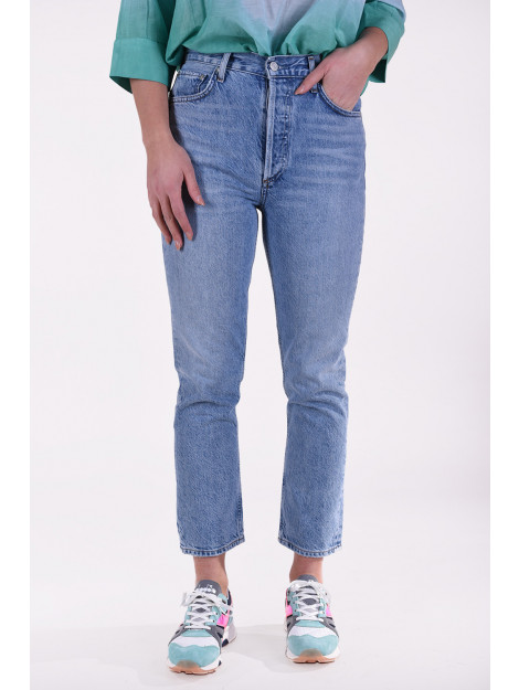Agolde Jeansbroek riley blauw A056-1139 large