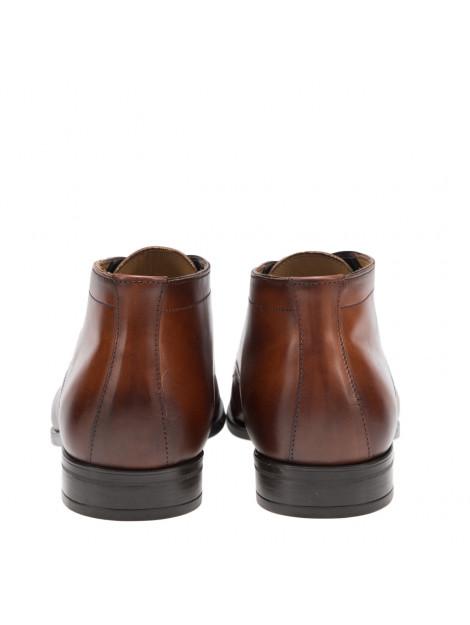 Giorgio Geklede schoenen cognac HE38205 large