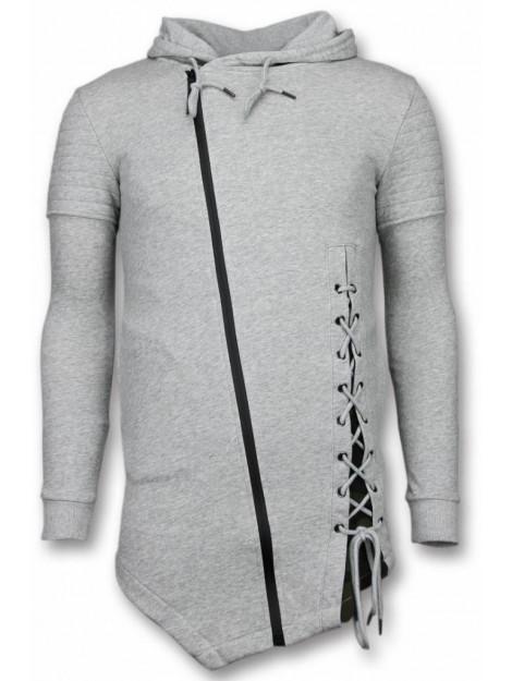 Enos Casual vest long fit braided vest FF-7061G large