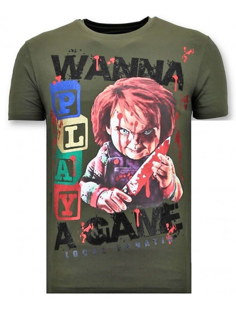 Local Fanatic T-shirt chucky childs play 11-6365G large