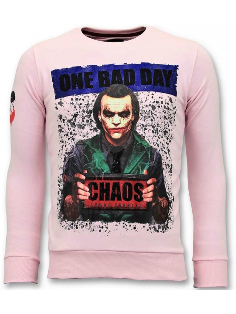 Local Fanatic Sweater the joker man 11-6373R large